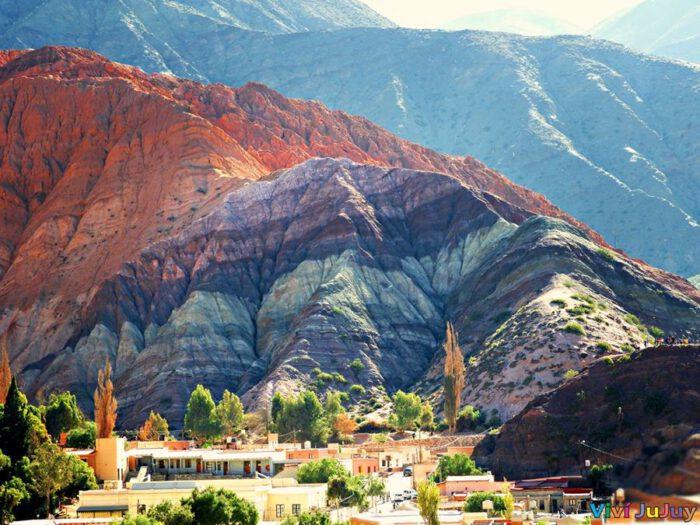 Cerro de los Siete Colores Purmamarca Viví Jujuy