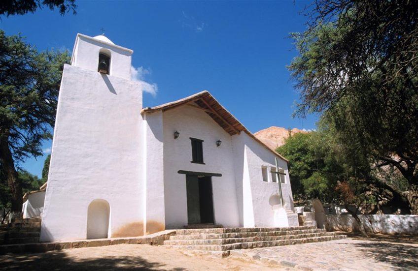 Iglesia de Purmamarca Santa Rosa de Lima