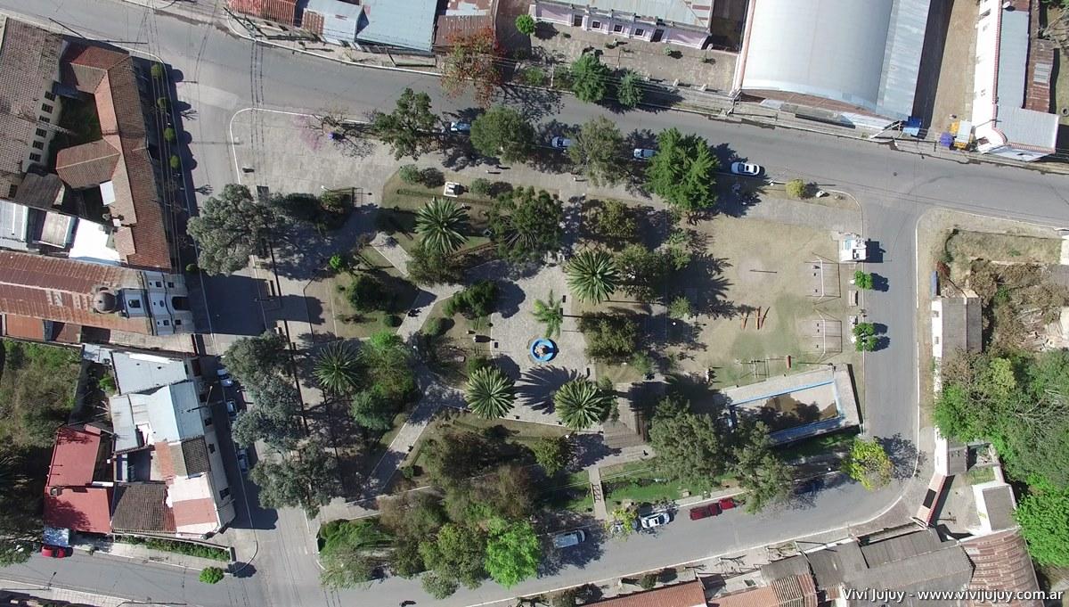 Plaza San Martin de San Antonio Jujuy