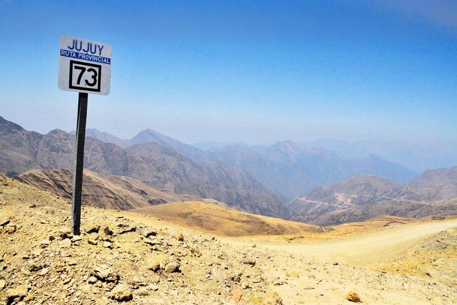 Ruta 73 Santa Ana Valle Colorado
