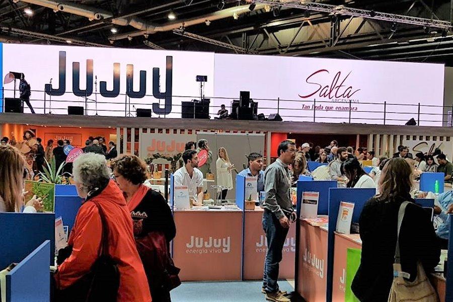 Stand de Jujuy en la Feria Internacional de Turismo 2019
