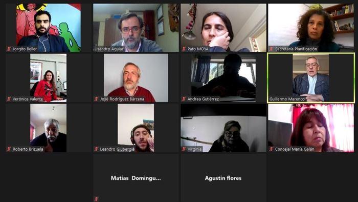 Reunión de Concejales de Jujuy vía Zoom