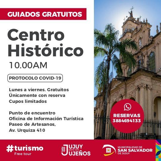 Paseo guiado centro histórico