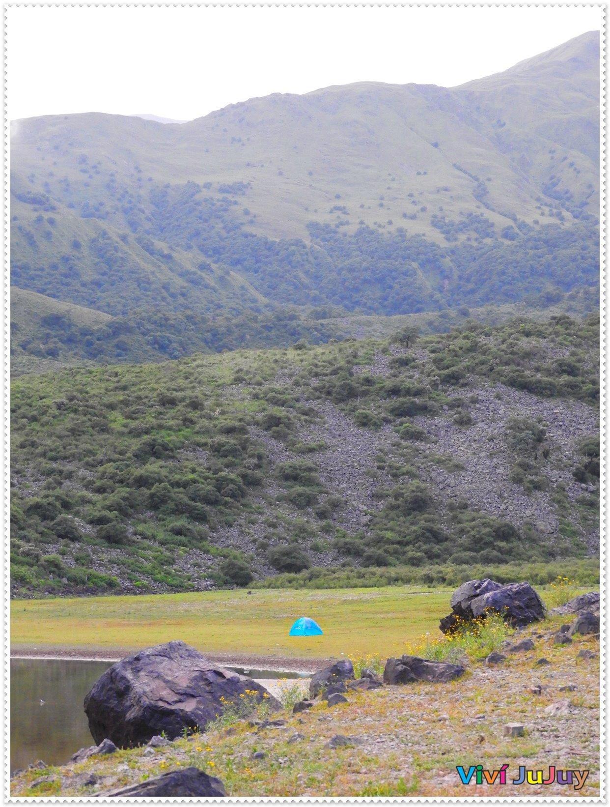 Lagunas de Yala en carpa