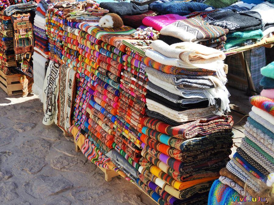 Tejidos y artesanías Purmamarca