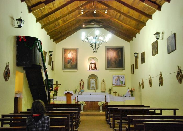 Iglesia Santa Rosa de Lima, interior