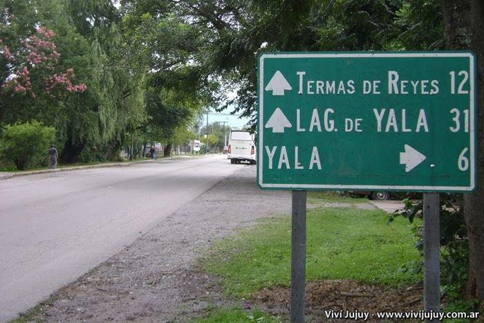 Cartel Villa Jardín de Reyes, Termas de Reyes y Yala