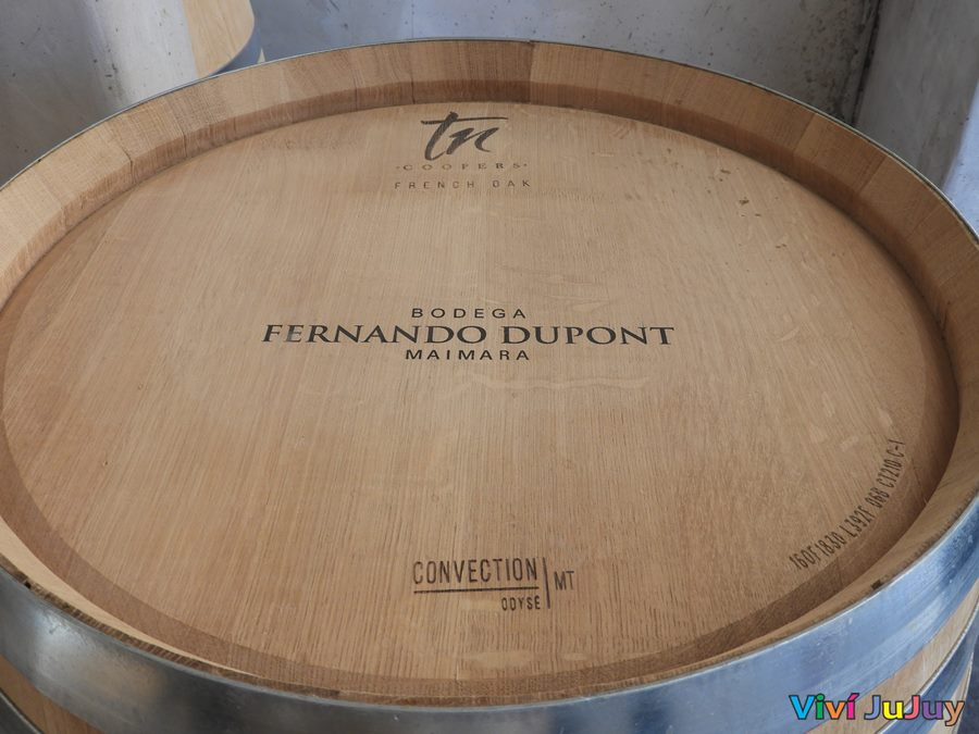 Barrica Bodega Fernando Dupont