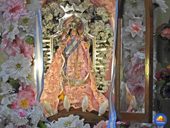 Imagen de la Virgen de Punta Corral - Mamita del Cerro
