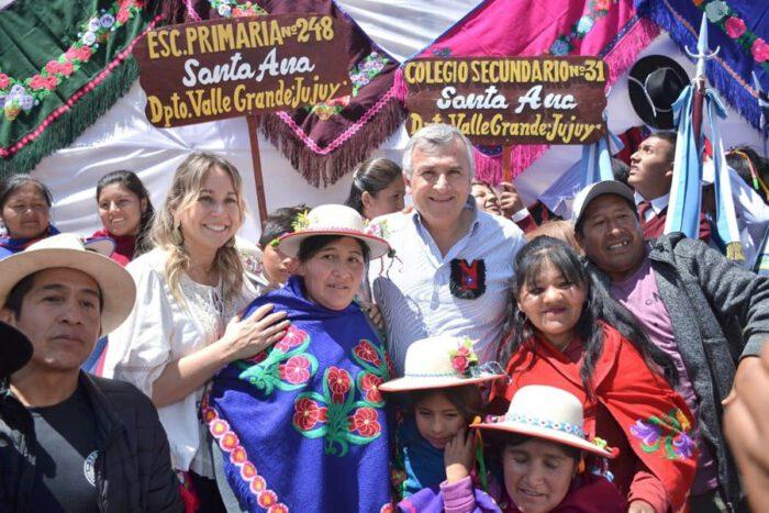 Inauguración Ruta 73 Santa Ana Valle Colorado