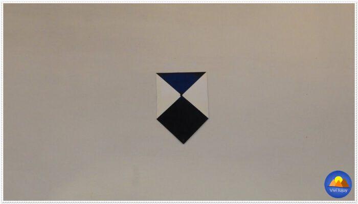 Escudo azul de UNESCO, símbolo utilizado para identificar los sitios culturales protegidos