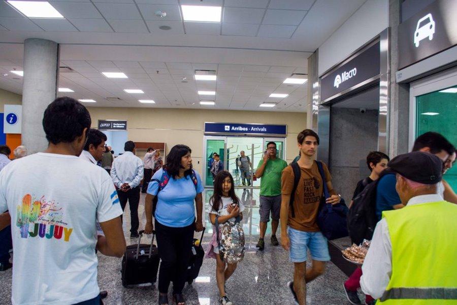 Aeropuerto de Jujuy turismo