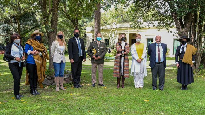 Integrantes de la Comisión de Revalorización y Medina Zar declararon de interés cultural el Museo