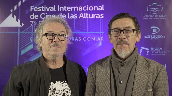 Miguel Kohan y Rubén Fleitas